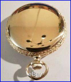Elgin GREAT WESTERN RAILWAY 16S. 17 jewels adjusted (1917) 14K. Gold filled case