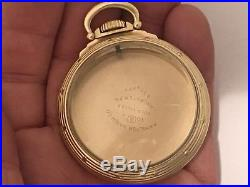Extremely Nice Hamilton 16 Size Railroad Watch Case For 992b, 950b