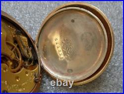Fine antique Hampton lady pocket watch Mascot hunter case