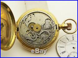 GF Waltham 5 Minute Repeater Hunting Case Restoration Project Runs and Strikes