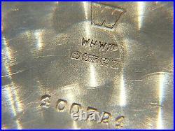 Garrard Pocket Watch 9ct Gold Cased