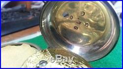 George III 1794 Silver Pair-cased Verge pocket watch by Peter Honan, London