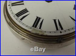George III Silver Pair Cased Pocket Verge Watch, Thomas Taylor With Albert Chain