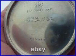 HIGH GRADE ANTIQUE HAMILTON 992, 21j RAILROAD GRADE POCKET WATCH with FANCY CASE