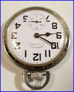 Hamilton 16S. 21 jewel adj grade 992B Railway Special dial Hamilton case (1965)
