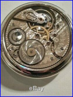 Hamilton 16 size fancy dial high grade 992 adj. 21 jewels Hamilton display case