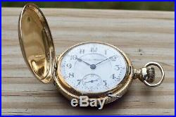 Hamilton 18s 17J 927 Pocket Watch Double Hunter Dueber Case