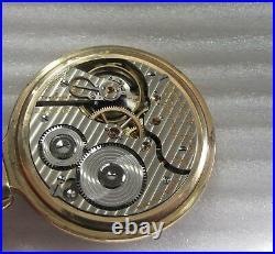Hamilton 21 jewel 992 Gold Filled case Railroad Watch 5 pos. 16 size Circa 1934