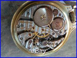 Hamilton 950B 23J Railroad Watch Org. Dial, Case & Movement. No Reserve