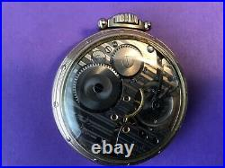 Hamilton 992B, pocket watch with display case. Running and looking good. Railr