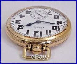 Hamilton 992E Elinvar Pocket Watch, Running, Interesting Case, Railroad Model