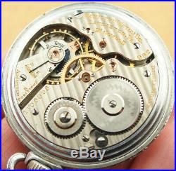 Hamilton 992 Pocket Watch Montgomery Dial Two Tone Case 1914 Double Sunk Dial