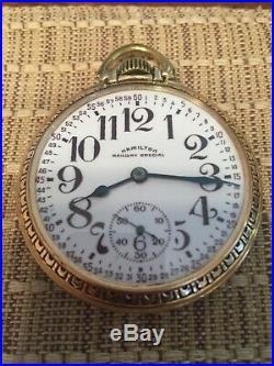 Hamilton 992b watch in hamilton case