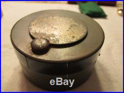 Hamilton GCT 22j WWII 4992B Military Army Navigation Pocket Watch+Army AC Case