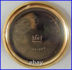 Hamilton Grade 952L, 16s, 19j, 10K GF Case, ca 1911 s/n 754173