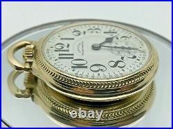 Hamilton Railway Special 992B 21Jewel Pocket Watch 16 Size in 10K GF Case c1951