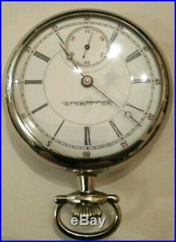 Hampden Dueber Grand 17 Jewel adjusted Railroad watch (1898) silverode case