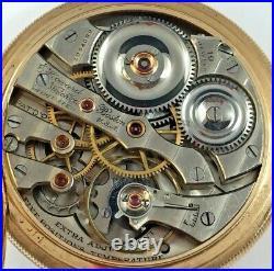 Howard Pocket Watch For Repair, Series 5, 16s, 19j, Running Fine! Howard Case