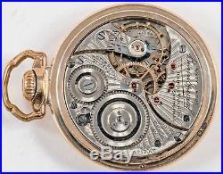 ILLINOIS BUNN SPECIAL 60 HOUR 21 JEWEL 16S POCKET WATCH w BUNN SPECIAL CASE