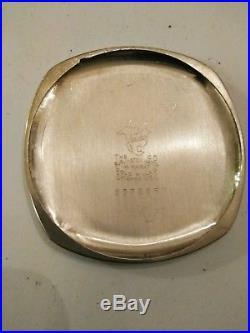 ILLINOIS Burlington ART DECO (1923) 21 jewels white gold filled case
