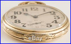 Illinois Sangamo Special 23 Jewel 17s Pocket Watch Sangamo Case Unmarked 60hr