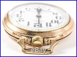 Illinois 21j Elinvar 60 Hour Bunn Special Pocket Watch Bunn Special Case