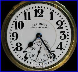 Illinois Bunn Special 23J 60-Hour Case M #28 Keystone J. Boss Springfield 6 Pos