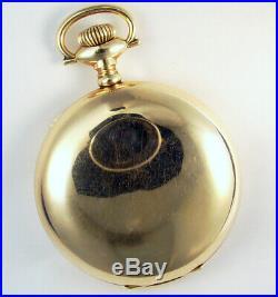 Illinois Paillard Non Magnetic 21 Jewel 18s Rare Hunting Case Pocket Watch