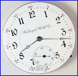 Illinois Washington Army & Navy 19 Jewel 16s Rare Hunting Case Pocket Watch Mvt
