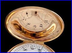 Illinois Watch Company 14k Gold Solid Case Pocket Watch Circa 1908
