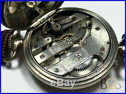 Incredible LAUREAT Mechanical Pocket Watch / Wrist Watch Leather 47.8mm Case