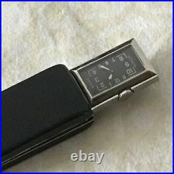Jaeger Lecoultre Art Deco Case Pocket Watch 100% Genuine 1960's Nos