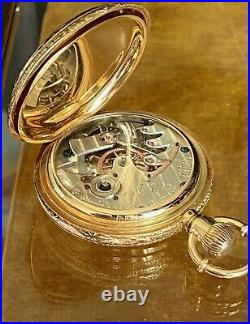 M. S. Smith Detroit 18k Gold Exposition Hunting Case No 79