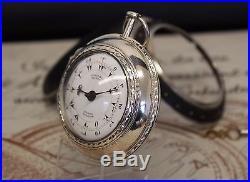 Markwick Markham Borel Spindel Taschenuhr triple case pocket watch ottoman