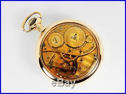 Mega Rare Antique 18s Railroad 21J Elgin 412 Gold Pocket Watch Salesman Case