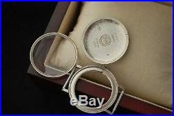 NOS Original Stainless Steel Case for Longines Mechanical Wrist Watch