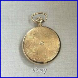 Nastrix Swiss Pocket Watch 17 Jewel Incabloc Wind-up Hunting Case Gold Plated