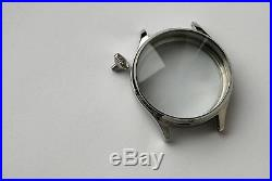 New 45 mm Stainless Steel Case for Conversion Antique Pocket Watch Movement