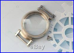 New 45mm Stainless Steel CASE for Conversion Pocket Watch Movement 15mm thicknes