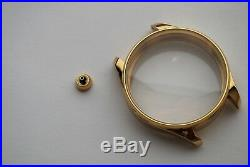 New 48 mm Stainless Steel Case for Conversion Antique Pocket Watch Movement