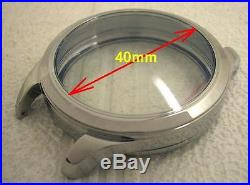 New 48mm Stainless Steel Case for Conversion Antique Pocket Watch Movement Rolex