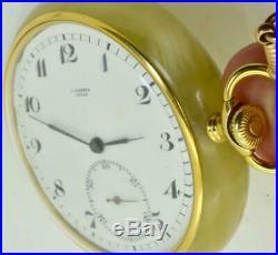 ONE OF A KIND historic WWI German pilot Ulysse Nardin Alabaster stone case watch