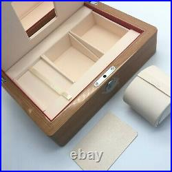 Omega Genuine Watch box case Wooden box Instructions Pouch Card case B0617036