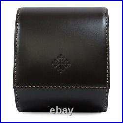 Patek Philippe Watch Travel Case Pouch Authentic Genuine Leather Storage Box