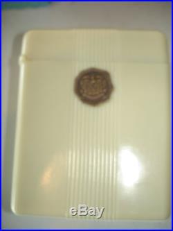 RARE HAMILTON VTG 1930'S RAILROAD POCKET WATCH BAKELITE BOX CASE DECO PLASKON