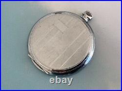 ROLEX TUDOR ref. 726 Pocket Watch Case W Stem & Crown New old stock
