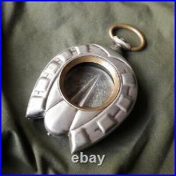 Rare Antique BIG GOLIATH HORSESHOE Pocket Watch Case Omega Zenith Doxa Moser ect
