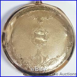 Rare Hamilton 950 Lever Set Railroad Watch 23J Pennsylvania Solid Gold Case