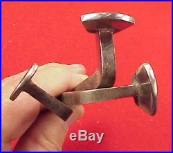 Rare Set 3 Case Dent Removal Punches Curved Steel Punches Pocket Watch 12-16-18