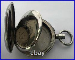 Rare Swiss ANTIQUE CASE Pocket Watch P. BURE